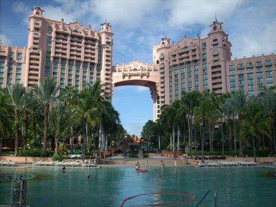 Pools at Atlantis Paradise Island Bahamas