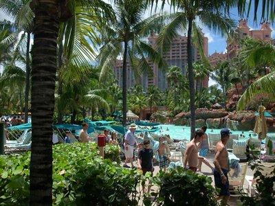 Pool at Atlantis Paradise Island Bahamas