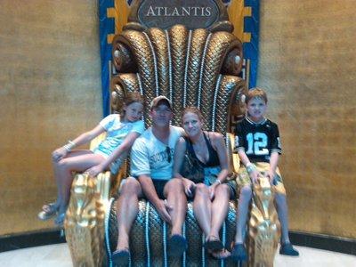 Koleno Family at Atlantis Paradise Island Bahamas