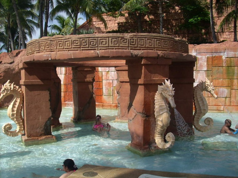 Pools at Atlantis Paradise Island Bahamas