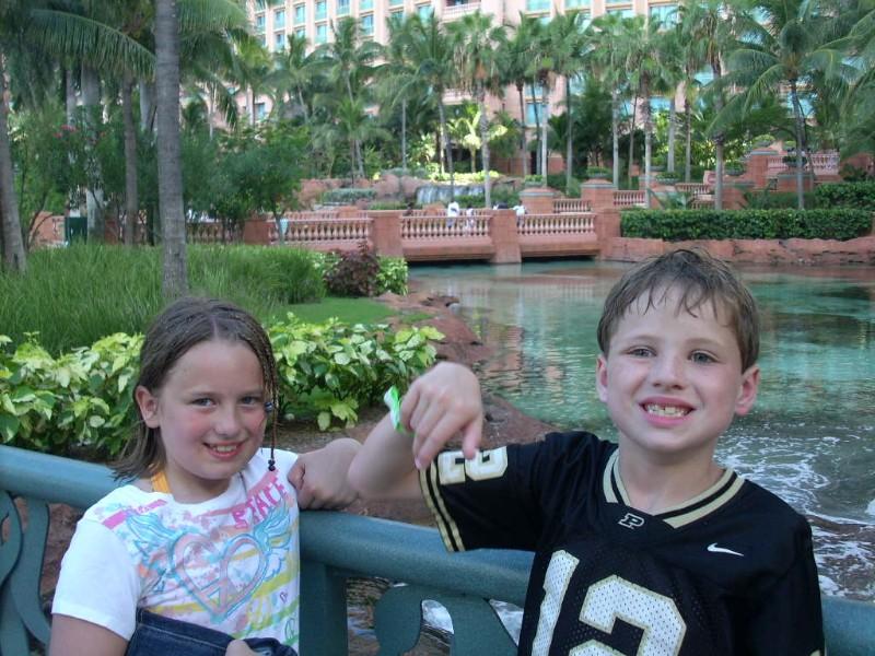 Kids at Atlantis Paradise Island Bahamas