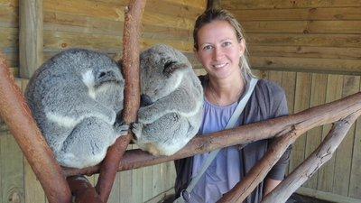 Me and koalas