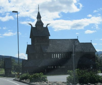 Stave Church at Uvdal, Norway