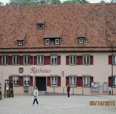 Rathaus - City Hall - Maulbronn, Germany