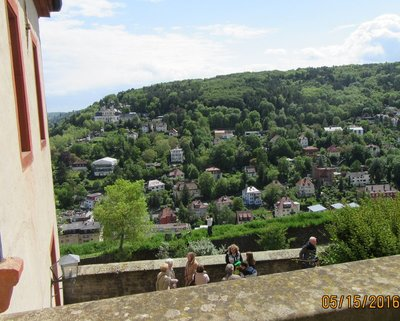 View from the ramparts