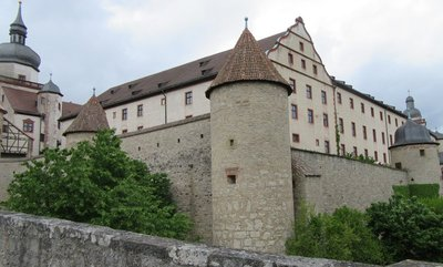 View of the buildings from the ramparts