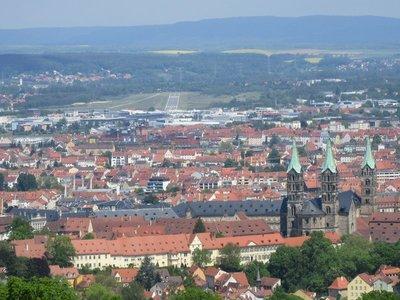Bamberg from castle