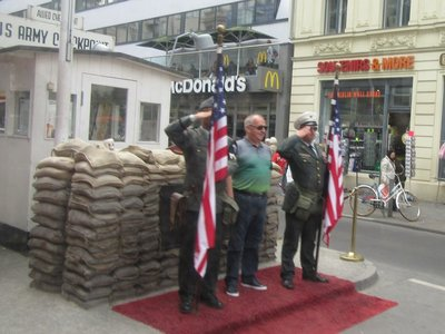 Near Check Point Charlie - what is this?