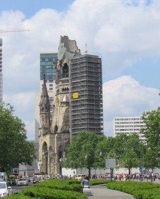 Another view of Kaiser Wilhelm Memorial Church