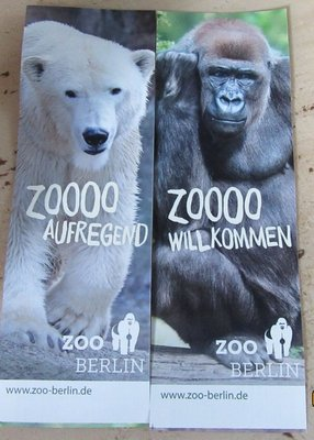 Tickets to zoo