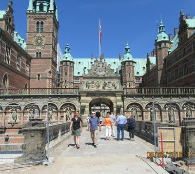 Beautiful Castle Frederiksborg