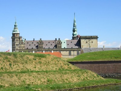 Kronsberg Slot or Castle known as Hamlet's castle