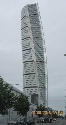 Turning Torso building Malmo, Sweden