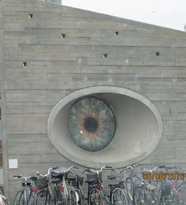 Hazel eye at TurningTorso
