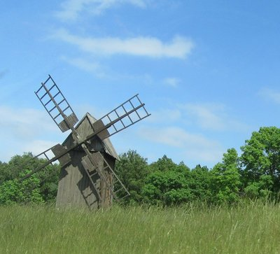 Little windmills on Oland