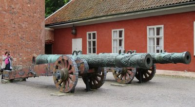 Cannons seized from Russia known as the Boar and the Sow