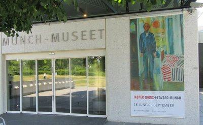 Entrance to Munch Museum