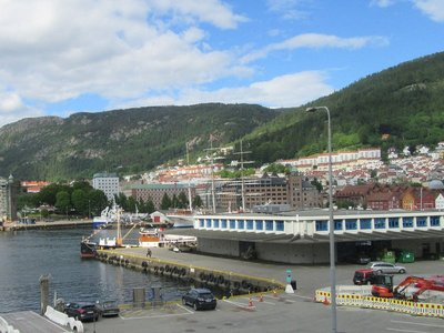 View from Bergen apartment
