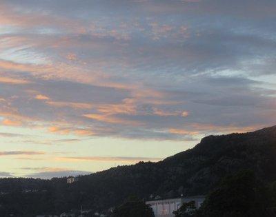 Ten minutes before sunset June 15