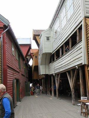 Street in Bryggen