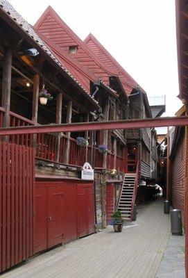 Another Bryggen streetscape