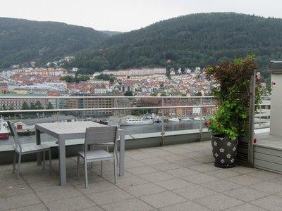 10th floor rooftop terrace