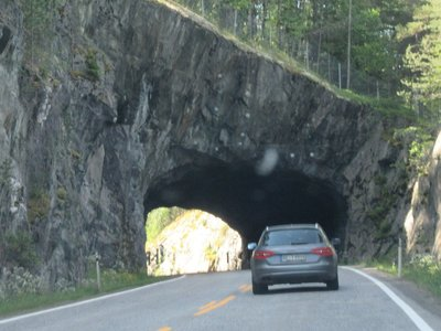 Tunnel  along highway 40