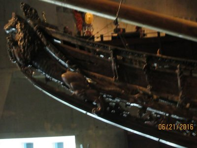 Decorated Bow of the ship Vasa