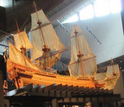 Model of Vasa scale 1 to 10