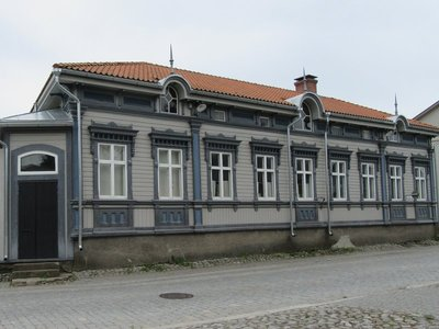 Interesting building in Old Rauma Town