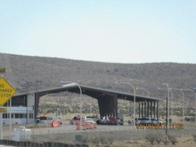 Border checking stations