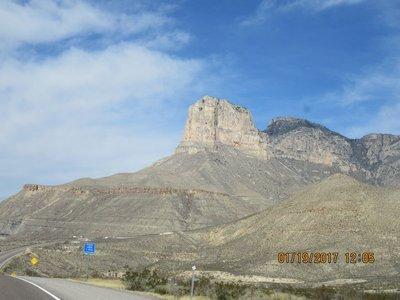 Guadalupe Peak 8751 feet