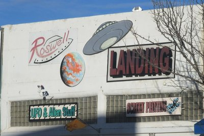 Stores with UFO theme