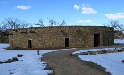 Kiva at Aztec Ruins