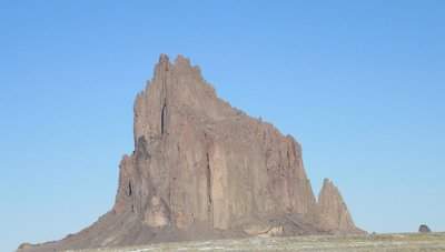 Shiprock near four corners