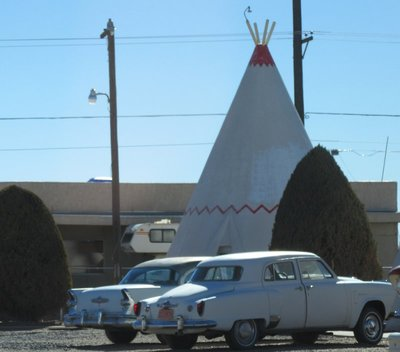 Wigwam Motel on route 66