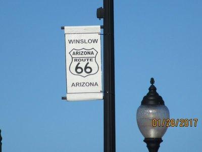 Route 66 Winslow, AZ