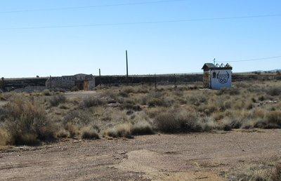 Route 66 stop at Two Guns, Canyon Diablo