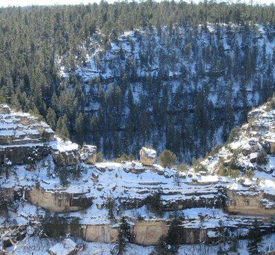 Rock looks like a pot on a ridge