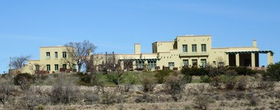 Douglas Mansion is visitor centre at Jerome State Park