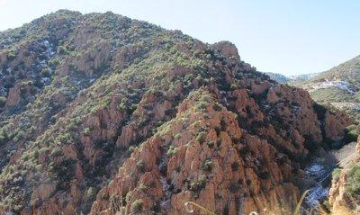 Red rocks near Jerome
