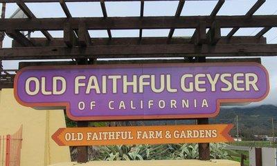 Entrance to Old Faithful Geyser