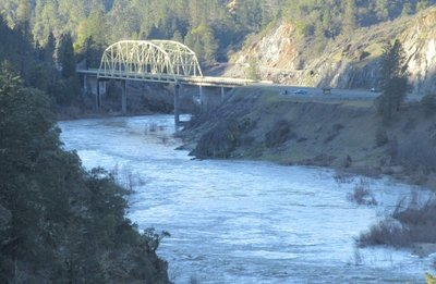 Bridge over Rogue River at Hellgate