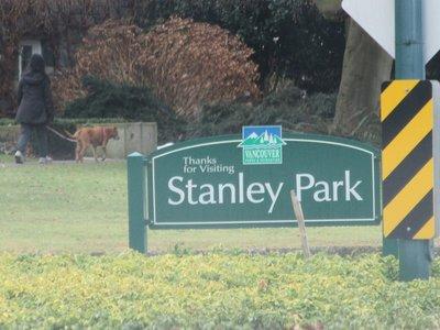 Stanley Park sign