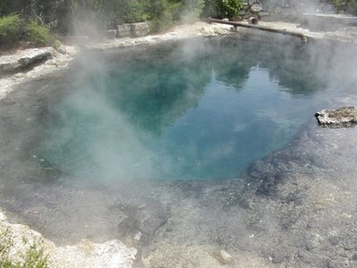 Hot Pool - Rachel Spring - Whangapipiro temp 212