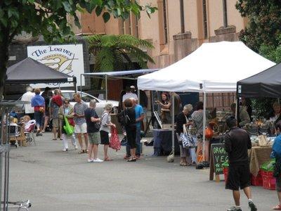 Farmers' Market at St Paul's