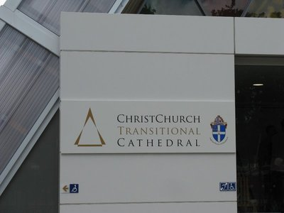 Christchurch's Transitional Cathedral