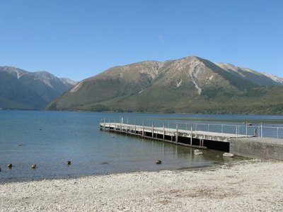 Mount Robert behind Lake Rotoiti