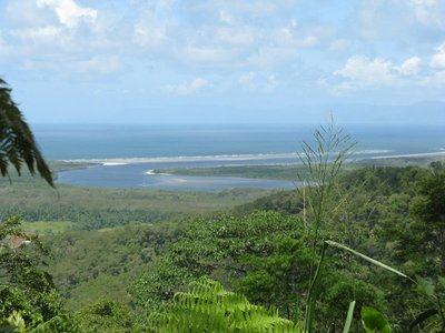 Picture of mouth of Daintree River