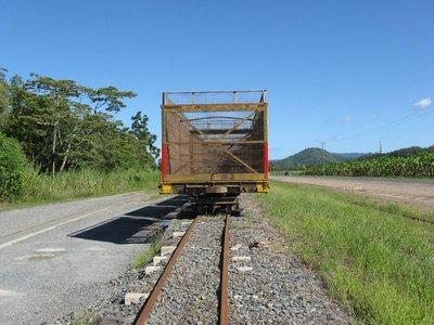 End view cane car